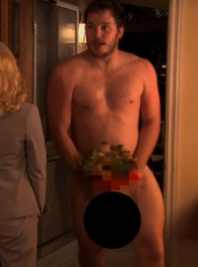 chris pratt nude parks and recreation